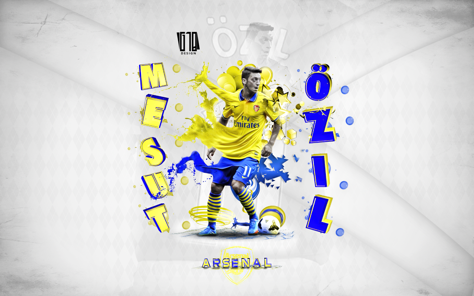 Mesut Ozil By Gustabinho10 On DeviantArt