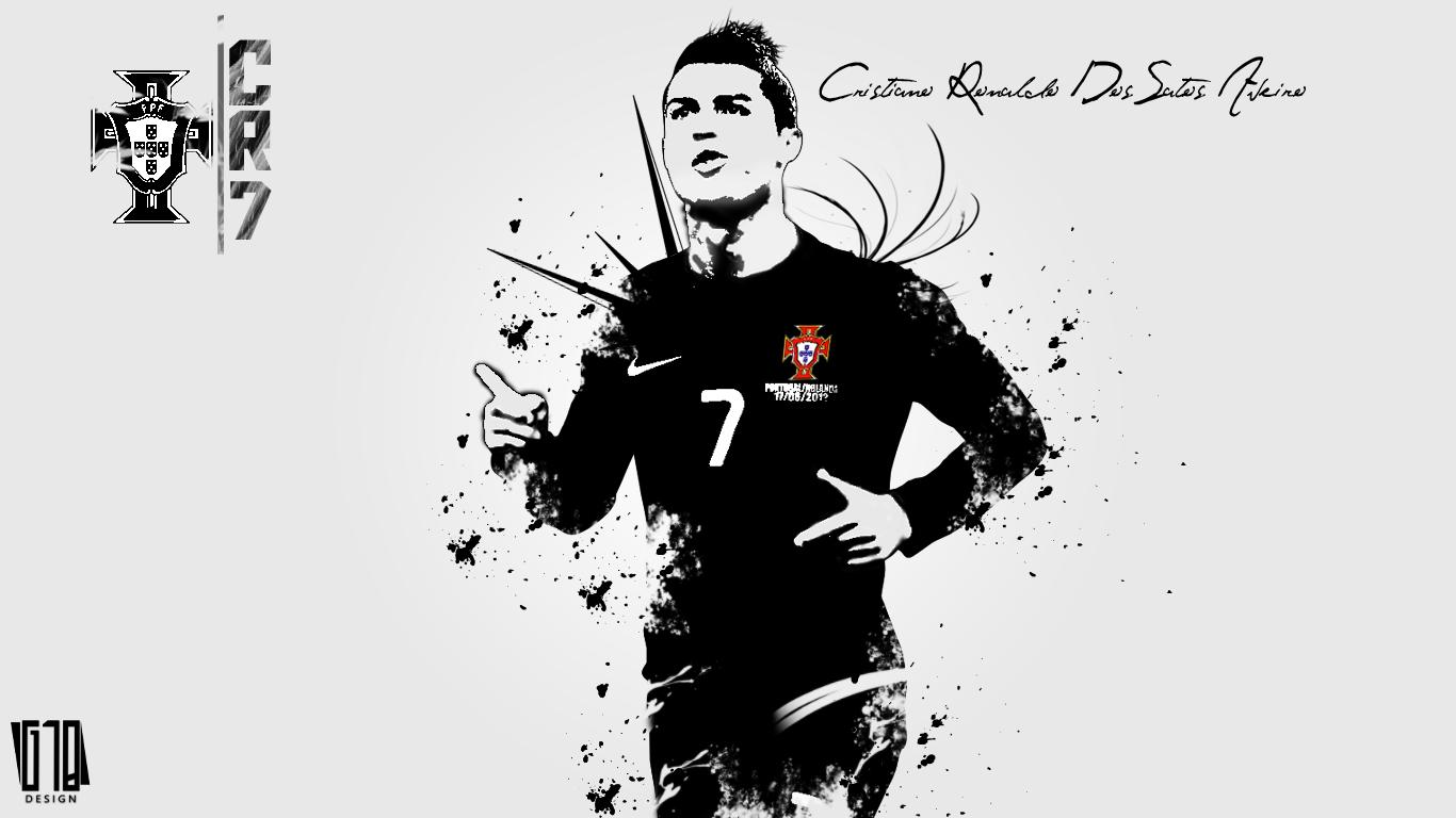ronaldo portugal hd wallpaper
