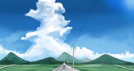 Cumulonimbus and JK by nakurahal