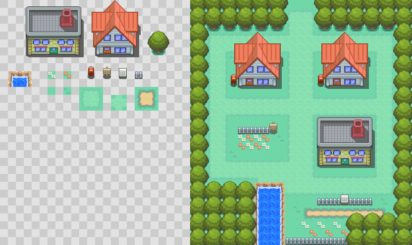 HG SS Pallet town by Alucus