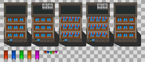Blue point isle tiles wip 2 by Alucus