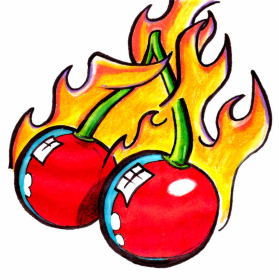 Ch ch cherry bomb by tufk1d on deviantart for Cherry bomb tattoo parlor perth