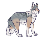 Emmaline - 400 point Flatsale Wolf Adopt