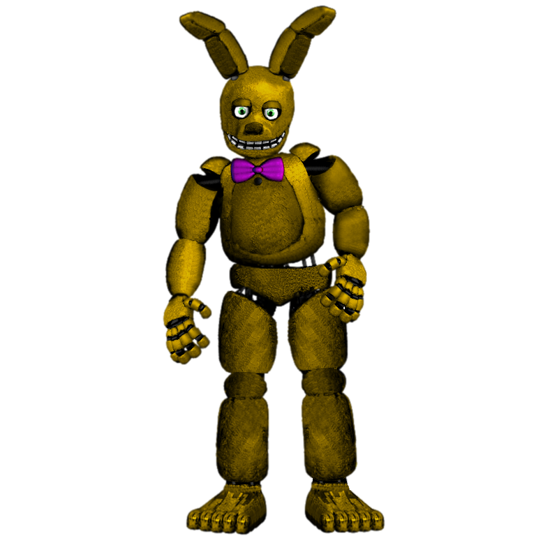 Fixed SpringBonnie/Springtrap By TheRealPAZZY On DeviantArt