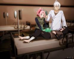 Commission_stay awake kankuro by sbel02