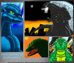 Fun With Older Godzilla Art