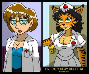 Overtly Sexy Hospital by Enshohma