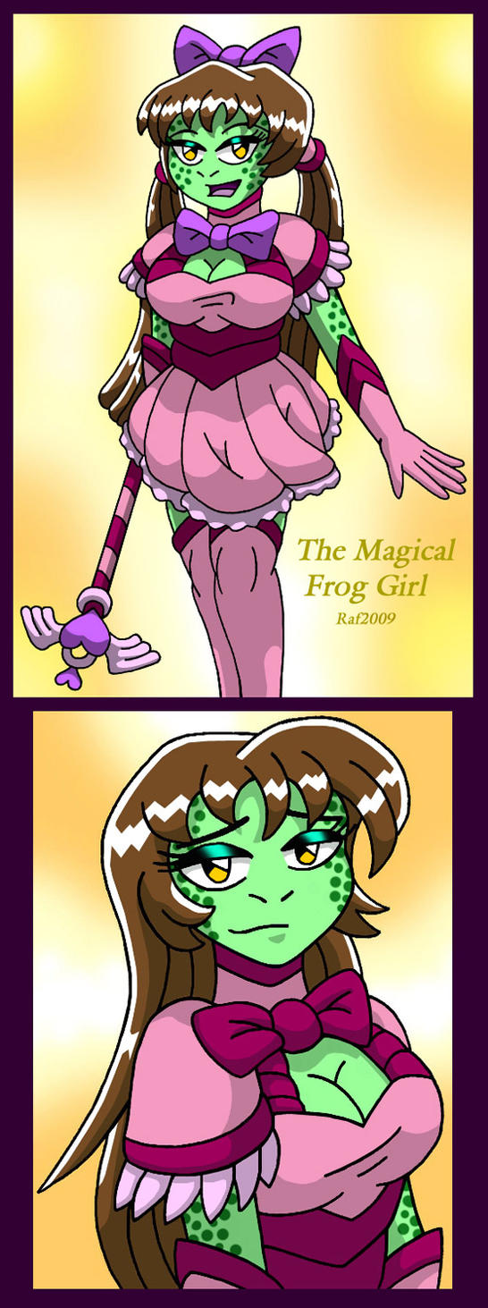 Magical Frog Girl by Enshohma