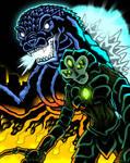 Godzilla vs Takegami