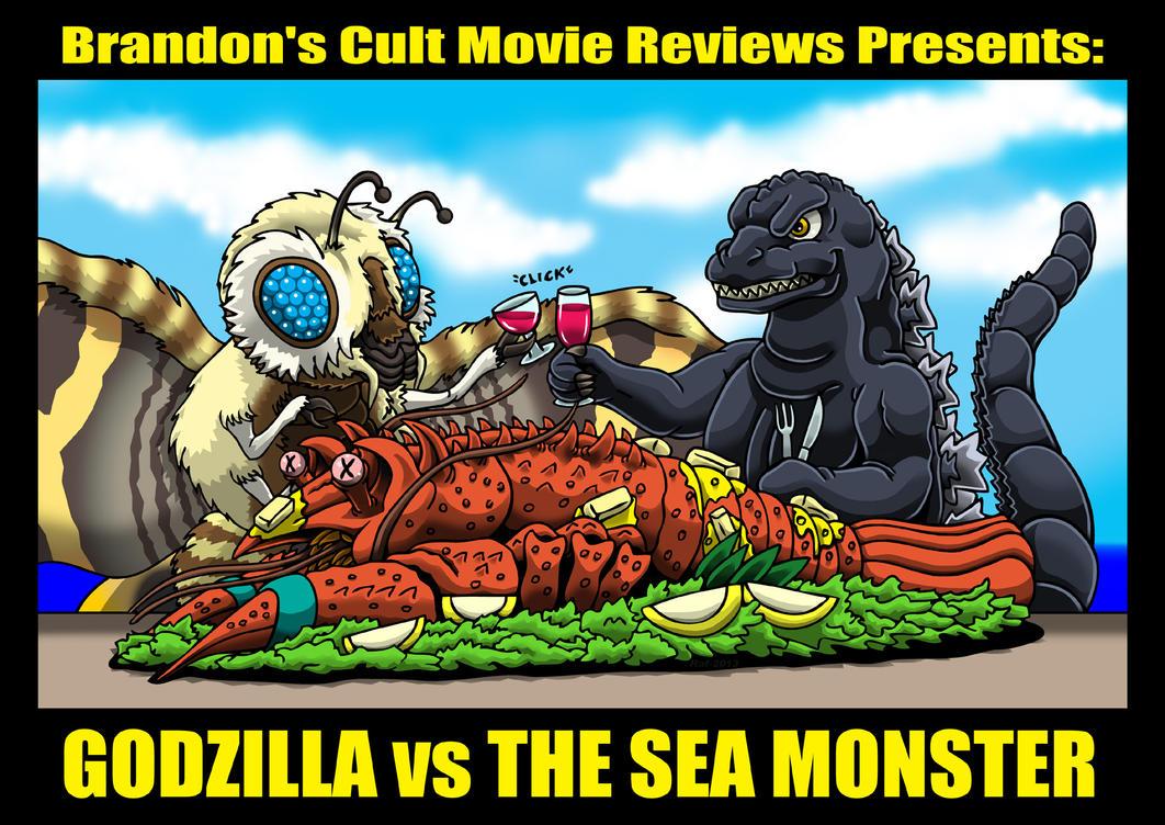 Godzilla vs The Lobster Dinner by Enshohma on DeviantArt