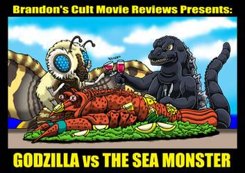Godzilla vs The Lobster Dinner by Enshohma