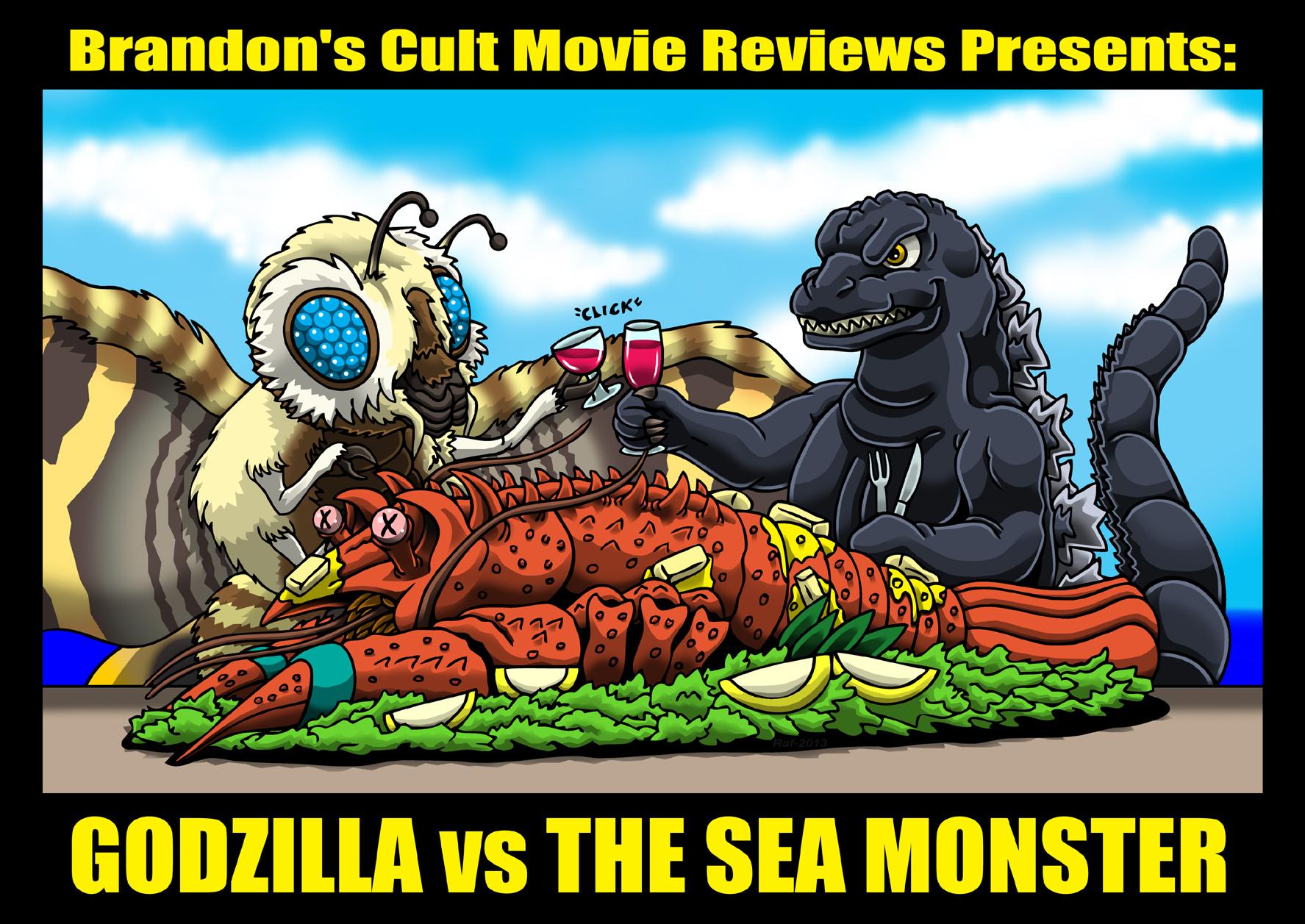 Godzilla vs Lobster