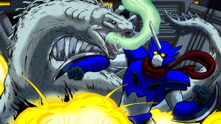Durontus vs Draco Azul - October 2015 by Enshohma