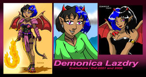 Demonica Lazdry - Compilation 2001-2008 by Enshohma