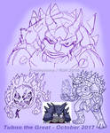 Baddie Sketches: Tuboo the Great by Enshohma