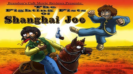 Brandon Tenold: The Fighting Fists of Shanghai Joe by Enshohma