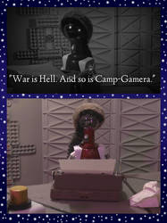 Camp Gamera Is Hell - March 2019 by Enshohma