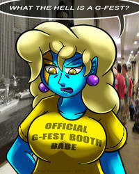 Miss Blou Goes to G-Fest - July 2019
