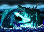 Legendary Godzilla vs Crustaceous Rex - Dec 2019
