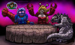 Meeting of The Gigantic Jerks - January 2020 by Enshohma