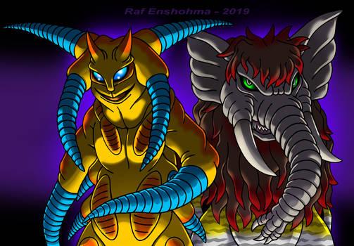 Darkon and Taigan - KaiJune 2020