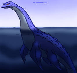 Surly Looking Plesiosaur - KaiJune 2020