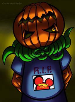 Pumpkin Rapper - Halloween 2020