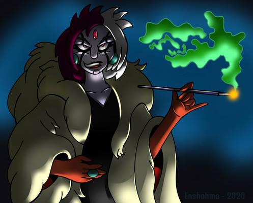 Conno as Cruella - Halloweenish 2020