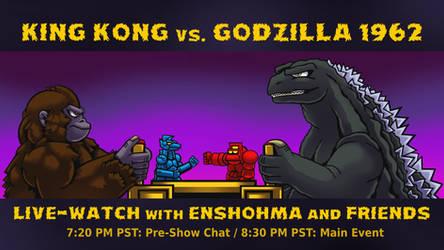 King Kong vs Godzilla Live-Watch - March 2021