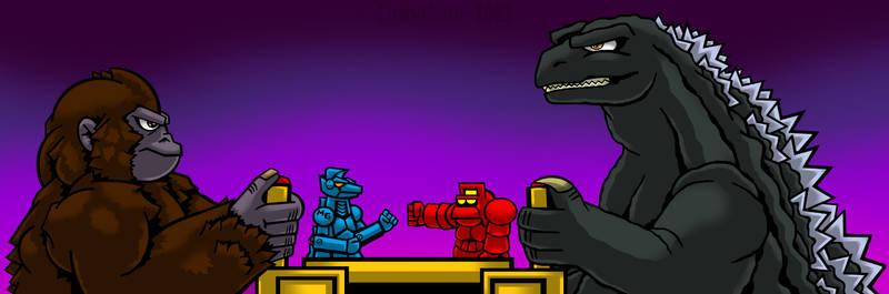 King Kong vs Godzilla - March 2021