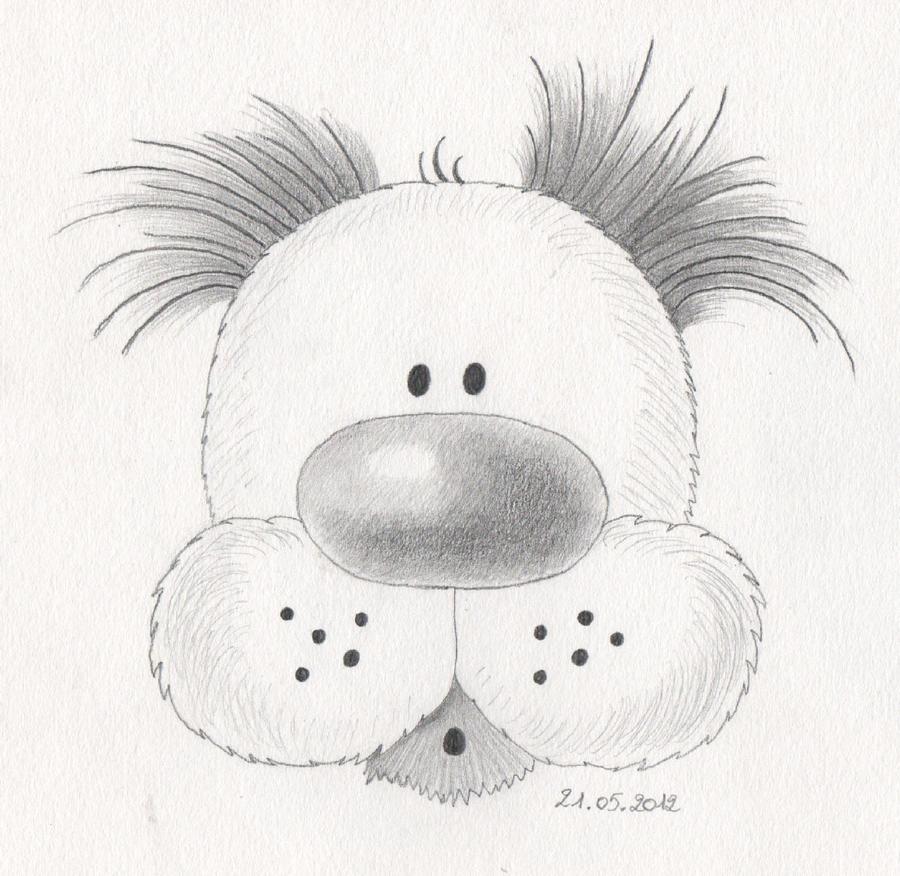 Fluppy the Puppy by LunaMorgana