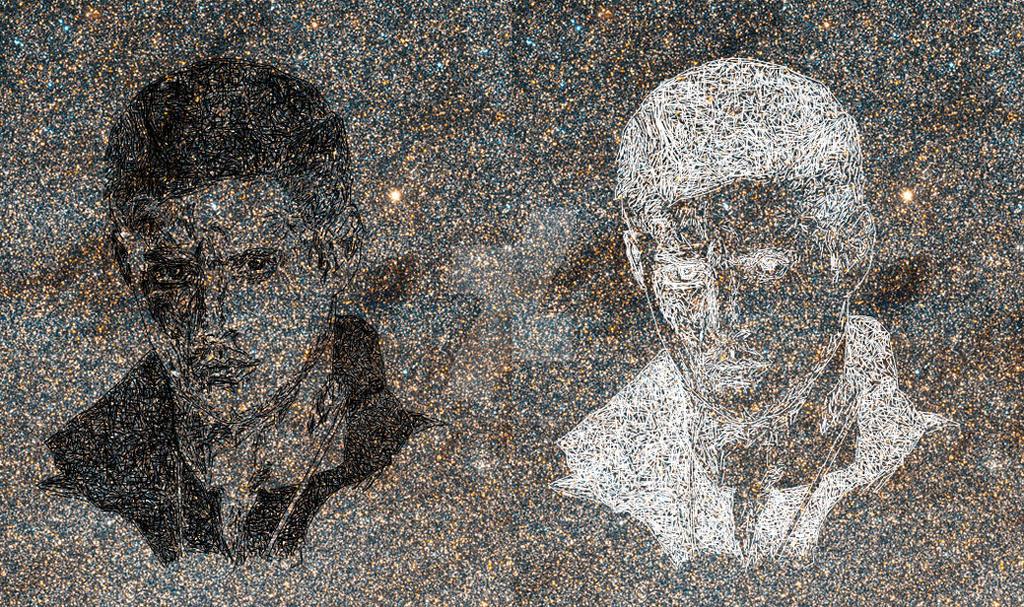 Jensen Ackles constellation by LunaMorgana