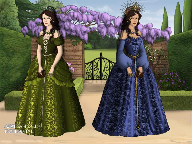 Princess Ana Maria and Iuliana Petronela by pispispis