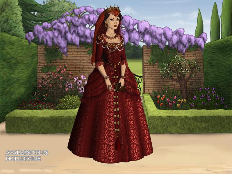 Princess Daria Tudora by pispispis