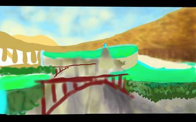 WIP Zelda Lanayru Screenshot (day 15)