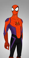 Spidey Hamada - With His Mask On by Percevanche