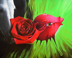 NonSoloRose - Oil painting by aquadrop