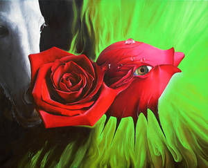 NonSoloRose - Oil painting