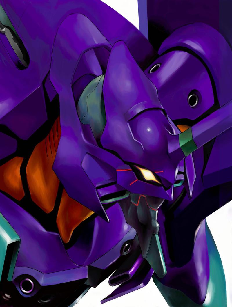Evangelion EVA-01 by aquadrop