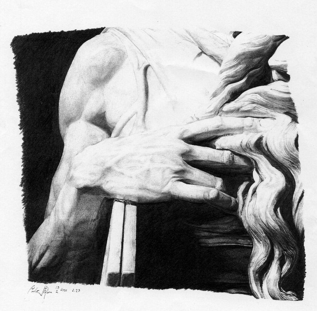 Moses, right hand by aquadrop