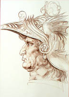 Warrior from Leonardo by aquadrop