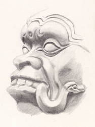 Maya devil by aquadrop