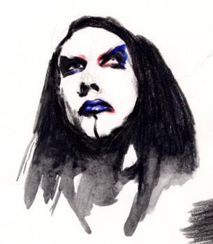 Marilyn Manson by aquadrop