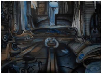 U.F.O Hallway by GTT-ART