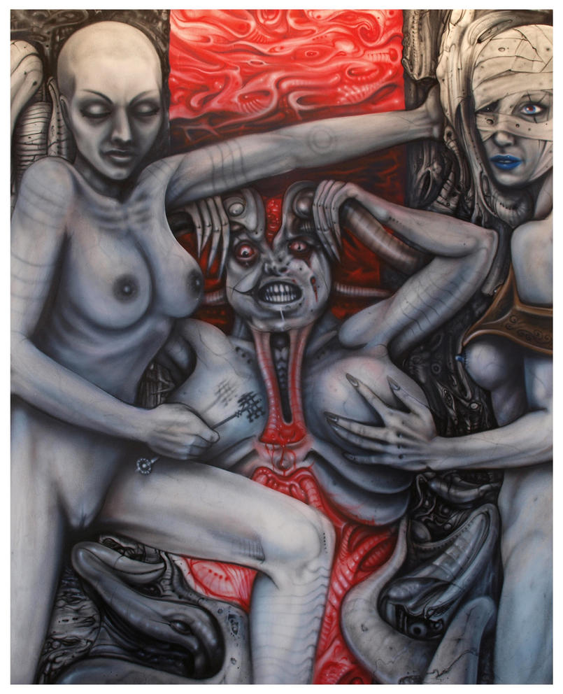 Born into madness by GTT-ART