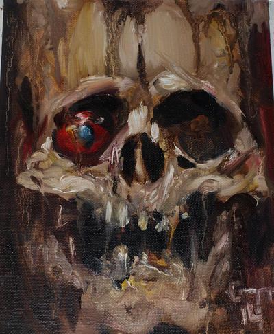 Skull V by GTT-ART