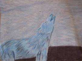 Howlin' wolf by LittleHouseCrafting
