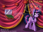 Comic: Talisman for a Pony - cover