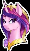 Comm: Princess Cadance, side 1