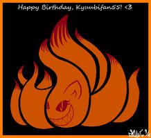 Happy Birthday, Kyuubifan55 by LovestarHazelangel